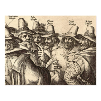 Guy Fawkes Postcard