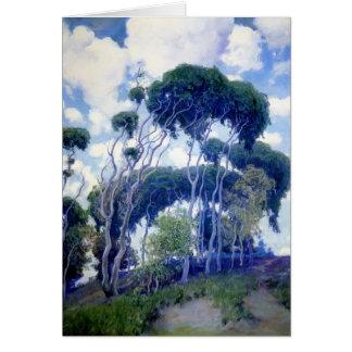 Guy Rose- Laguna Eucalyptus Card