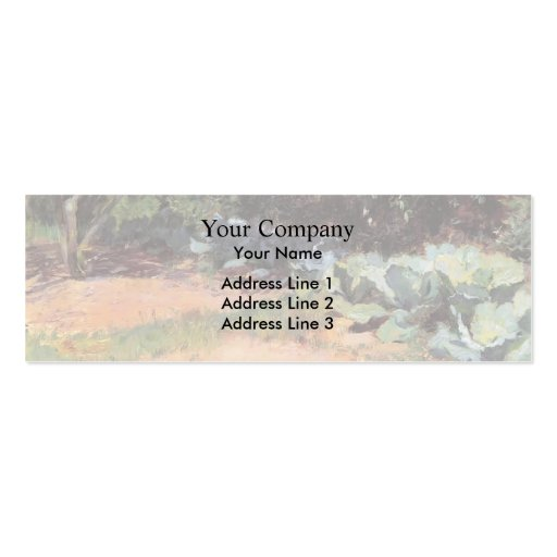 Guy Rose- The Cabbage Patch Business Card Templates