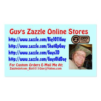 Guy s Zazzle Business Card