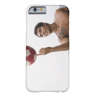 Guy spinning football on finger barely there iPhone 6 case