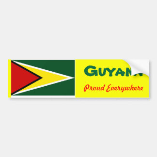 Guyana bumper stickers
