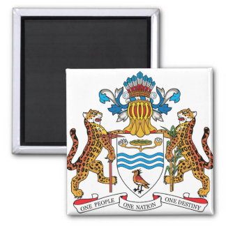 Guyana Coat of Arms detail Magnets