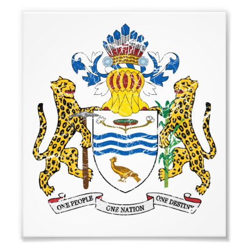 Guyana Coat Of Arms Photograph