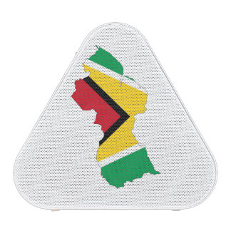 guyana country flag map shape symbol