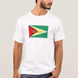 Guyana flag souvenir t-shirt