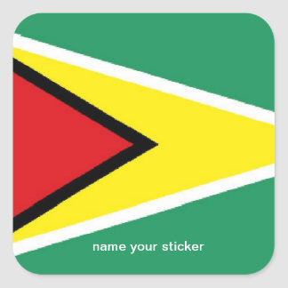 Guyana flag sticker