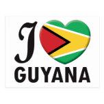 Guyana Love Post Card