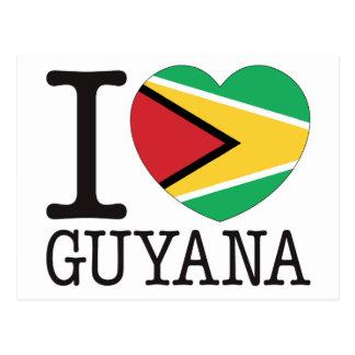 Guyana Love v2 Post Cards