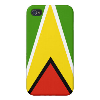 guyana National Nation Flag  Cover For iPhone 4