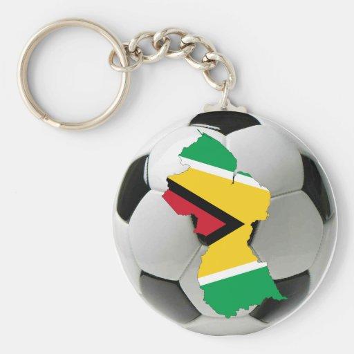 Guyana national team keychains