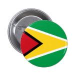 guyana pinback buttons