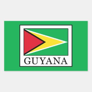 Guyana Rectangular Sticker