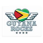 Guyana Rocks v2 Postcard