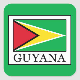 Guyana Square Sticker