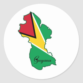 Guyana Sticker