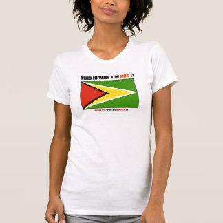 Guyana : This iz why I'm HOT !! T-Shirt