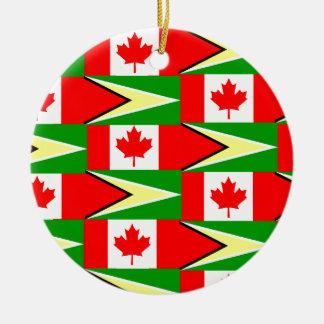 guyanese canadian christmas ornament