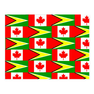 guyanese canadian post card