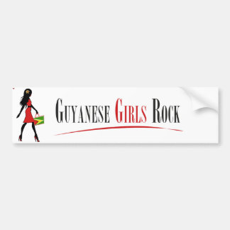Guyanese Girls Rock Bumper Stickers