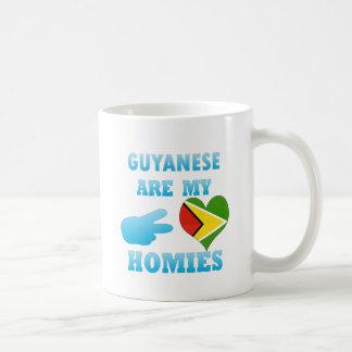Guyaneses are my Homies Coffee Mugs