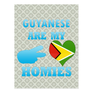 Guyaneses are my Homies Post Card