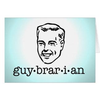 Guybrarian Greeting Card