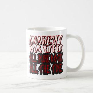guys girls ANARCHY RADIO all punk all the time Coffee Mugs