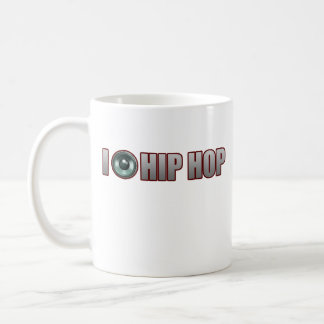 guys girls new old school HIP HOP HIPHOP RAP Basic White Mug