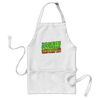 guys girls undead zombies funny zombie shirt apron