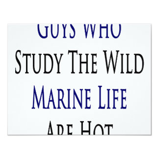 Guys Who Study The Wild Marine Life Are Hot Personalized Announcement