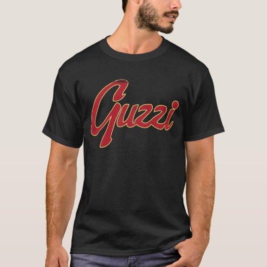 Guzzi Classic Stitch Script (Vintage Look) T-Shirt