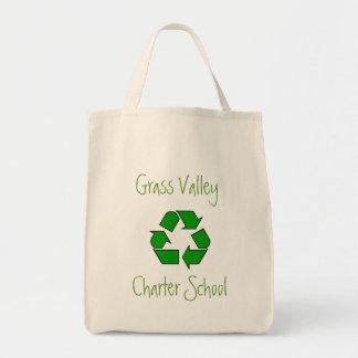 GVCS Market Tote Canvas Bags