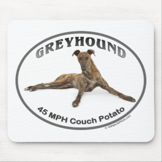 GVV 40MPH Couch Potato Mouse Mat