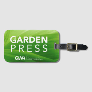 GWA Garden Press Luggage Tag