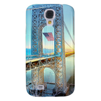 GWB connecting Fort Lee NJ and Manhattan NYPlus Galaxy S4 Case