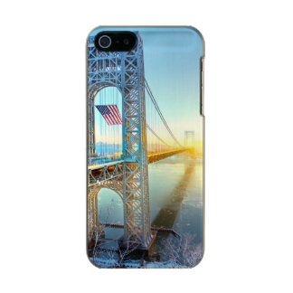 GWB connecting Fort Lee NJ and Manhattan NYPlus Incipio Feather® Shine iPhone 5 Case