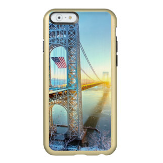 GWB connecting Fort Lee NJ and Manhattan NYPlus Incipio Feather® Shine iPhone 6 Case