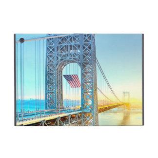 GWB connecting Fort Lee NJ and Manhattan NYPlus iPad Mini Covers