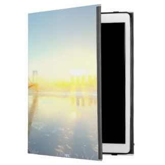 "GWB connecting Fort Lee NJ and Manhattan NYPlus iPad Pro 12.9"" Case"