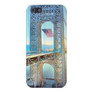 GWB connecting Fort Lee NJ and Manhattan NYPlus iPhone 5/5S Cover