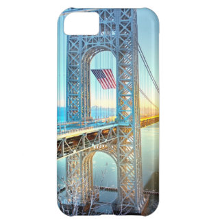 GWB connecting Fort Lee NJ and Manhattan NYPlus iPhone 5C Case
