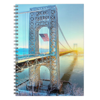 GWB connecting Fort Lee NJ and Manhattan NYPlus Notebook