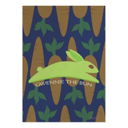 Gwennie The Bun: Night Raider Business Card Template
