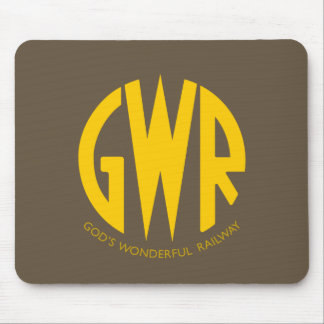 GWR Great Western Railway Vintage Hiking Duck Mouse Mat