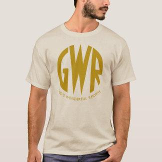 GWR Great Western Railways Gold Trains Hiking Duck T-Shirt
