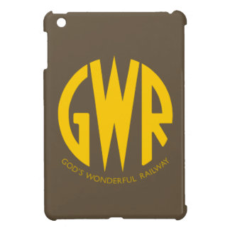 GWR Great Western Railways Old Vintage Hiking Duck iPad Mini Cover
