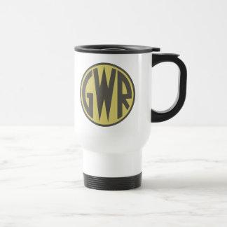 GWR Great Western Railways Trains 1930sHiking Duck Travel Mug