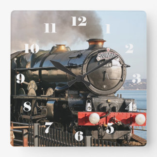 GWR King Class 6024 King Edward I - all numbers Square Wall Clock