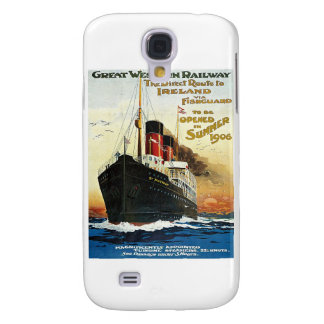 GWR Travel to Ireland Poster Galaxy S4 Case